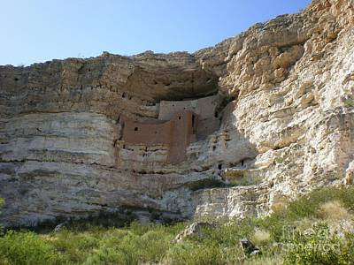Photograph - Montezuma's Castle by Debbie Wells