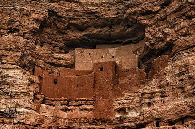 Mark Myhaver Royalty Free Images - Montezumas Castle Royalty-Free Image by Mark Myhaver