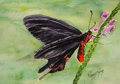 Painting - Montezuma's Cattleheart by Peggy King