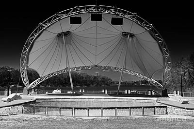 Photograph - Montgomery Alabama Amphitheater Stage by Danny Hooks
