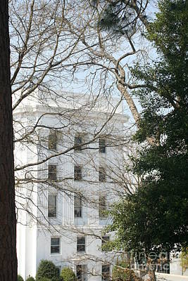 Photograph - Montgomery Alabama Architecture by Lesa Fine