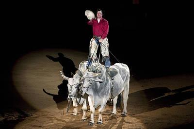 Photograph - Montgomery Alabama Southeastern World Cahmpionship Rodeo by Carol M Highsmith
