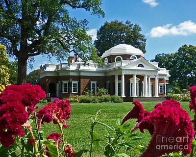 Photograph - Monticello In Bloom by Desiree Paquette