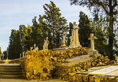 Photograph - Montjuic Cemetery 3 by Deborah Smolinske