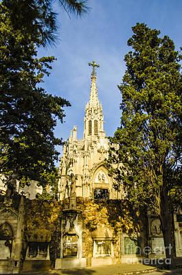 Photograph - Montjuic Cemetery by Deborah Smolinske