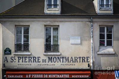 Montmarte Home Art Print by Brian Jannsen