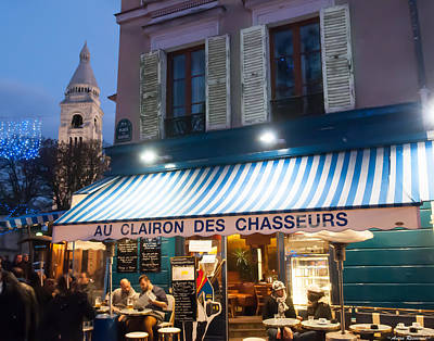 Photograph - Montmartre Cafe by Avian Resources