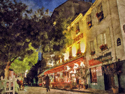 Photograph - Montmartre by Celso Bressan