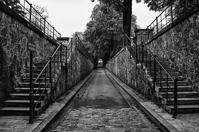 Cemeteries Of Paris Photograph - Montmartre Cemetery by Georgia Fowler