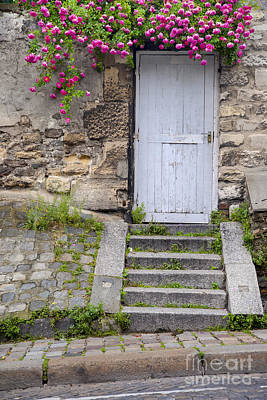 Photograph - Montmartre Door by Brian Jannsen