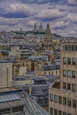 Montmartre Art Print by Gary Hall