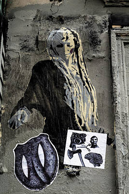 Photograph - Montmartre Graffiti  by Georgia Fowler