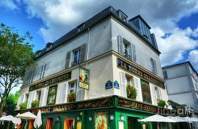 Photograph - Montmartre In Paris 4 by Mel Steinhauer