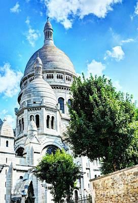 Sacre Coeur Photograph - Montmartre In Paris 6 by Mel Steinhauer