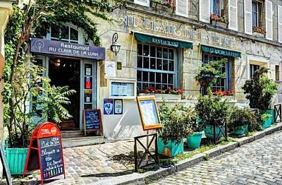 Village In France Photograph - Montmartre In Paris 7 by Mel Steinhauer