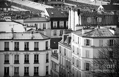 Photograph - Montmartre View In Paris by John Rizzuto