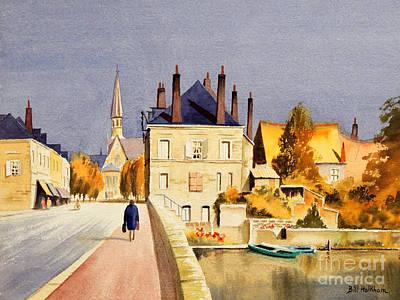 Painting - Montoire Sur-le-loir by Bill Holkham