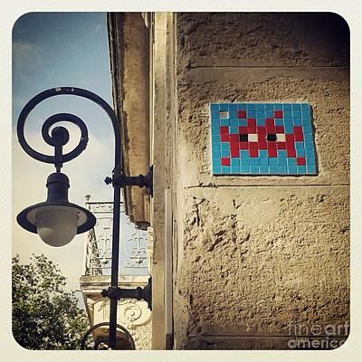 Photograph - Montpellier Alien by Victoria Herrera