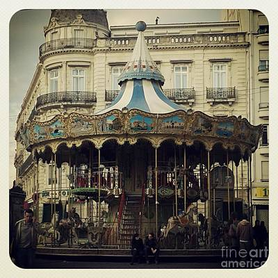Photograph - Montpellier Carousel by Victoria Herrera