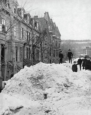 Montreal Winter Scenes Photograph - Montreal, C1890 by Granger