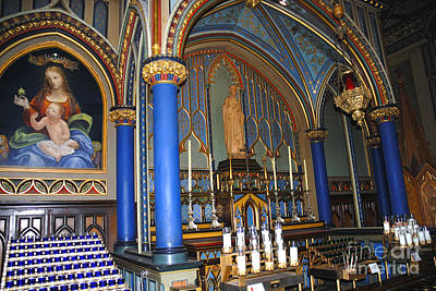 Photograph - Montreal Cathedral by Brenda Kean