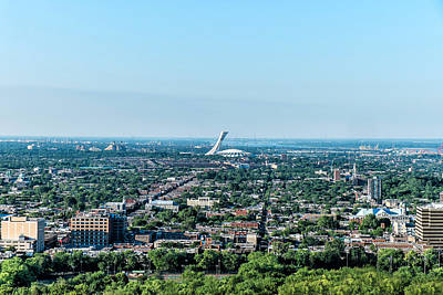 Photograph - Montreal City View by Boris Mordukhayev