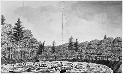 Quebec Painting - Montreal Expedition, 1760 by Granger