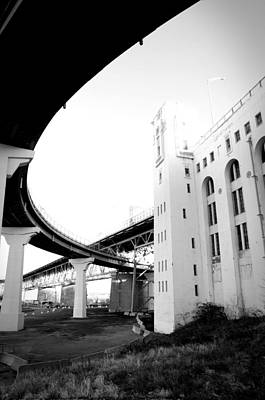 Photograph - Montreal Harbour Bridge Casino by Eric Soucy