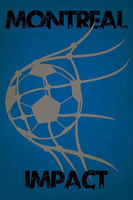 Montreal Impact Goal Art Print by Joe Hamilton