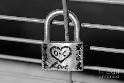 Photograph - Montreal Love Lock by Nina Silver