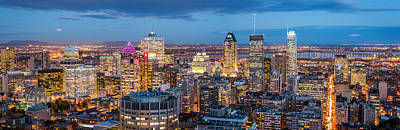 Montreal Panorama Art Print