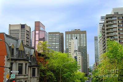 Photograph - Montreal Skyline by Brenda Kean
