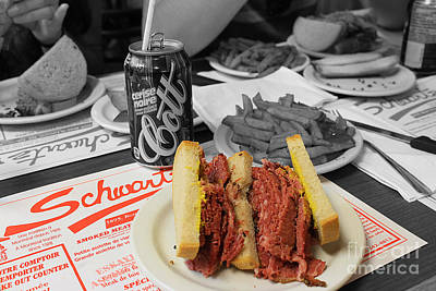 Photograph - Montreal Smoked Meat by Nina Silver