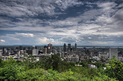 Photograph - Montreal Summer Skyline by Martin New