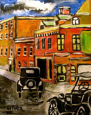 Litvack Painting - Montreal Then by Michael Litvack