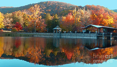 Montreat Autumn Art Print