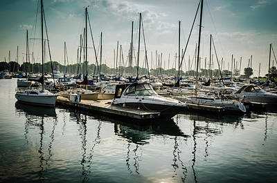 Photograph - Montrose Marina In The Morning by Anthony Doudt