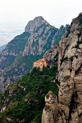 Photograph - Montserrat Near Barcelona by Mathew Lodge