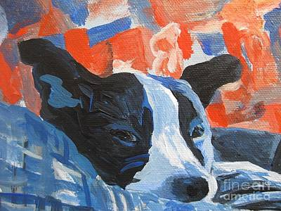 Painting - Monty Keeping Watch by Stella Sherman