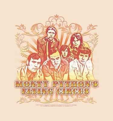 Python Digital Art - Monty Python - Flying Circus Vintage by Brand A