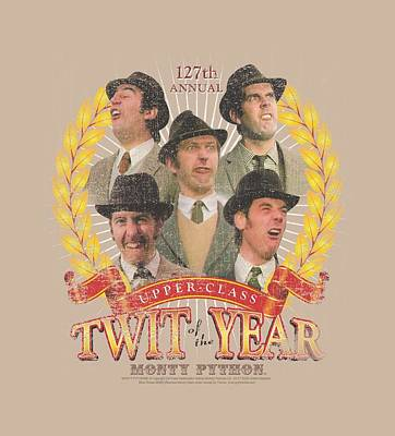 Python Digital Art - Monty Python - Twit Of The Year by Brand A
