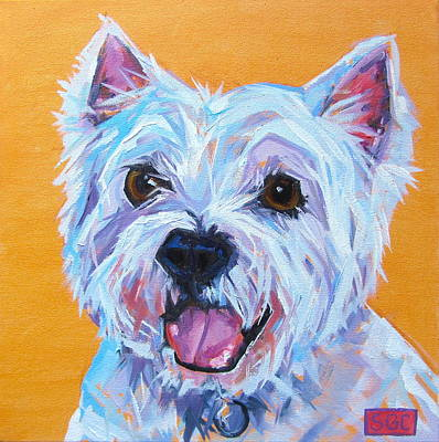 Painting - Monty by Sarah Gayle Carter