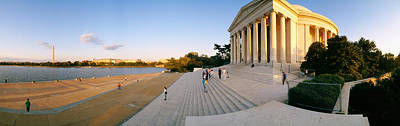 Jefferson Memorial Photograph - Monument At The Riverside, Jefferson by Panoramic Images