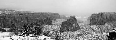 Pinion Photograph - Monument Canyon Days Past by Eric Rundle