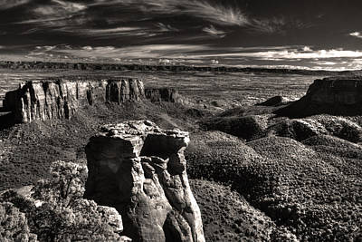 Monument Canyon Monolith Art Print by William Fields