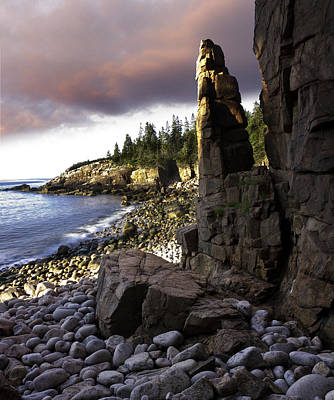 Photograph - Monument Cove Sunrise 4984 by Brent L Ander