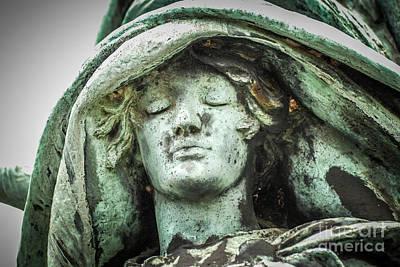 Photograph - Monument Face by Grace Grogan