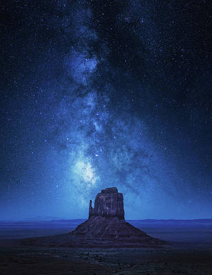 Milky Way Wall Art - Photograph - Monument Milkyway by Juan Pablo De