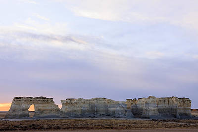 Photograph - Monument Rocks by Scott Bean