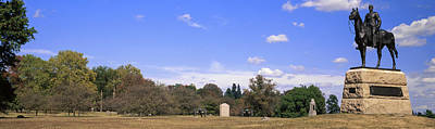 Gettysburg Photograph - Monument To Maj. Gen. George G. Meade by Panoramic Images